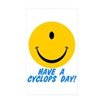 Have a Cyclops Day! Rectangle Sticker 50 pk)