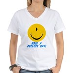 Have a Cyclops Day! Women's V-Neck T-Shirt