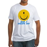 Have a Cyclops Day! Fitted T-Shirt