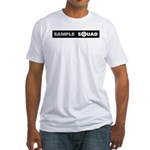 Sample Squad Fitted T-Shirt