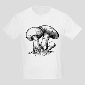 Mushroom 1 Kids Light T-Shirt