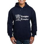 Knights Templar York Shield Navy Hoodie