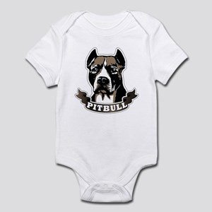 Pit Bull Face Infant Bodysuit