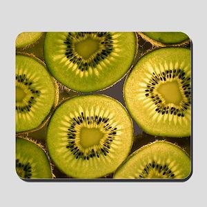 Kiwi Fruit Slices Mousepad