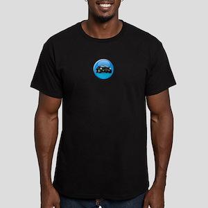 2002-2005 Thunderbird Dot Men's Fitted T-Shirt (da