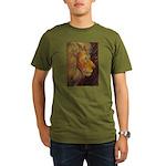 Shadow Fire Organic Men's T-Shirt (dark)