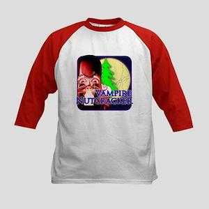 Vampire Nutcracker Dark Night Kids Baseball Jersey