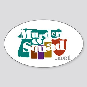 Murder Squad Oval Sticker