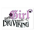 Every Girl Needs a Big Viking Postcards (Package o