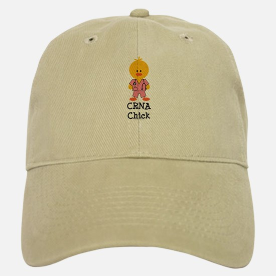 CRNA Chick Baseball Baseball Cap