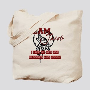 Hot Blooded and Moody Tote Bag