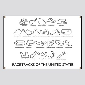 Race Tracks of the United States Banner