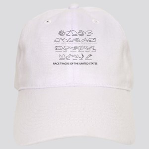 Race Tracks of the United States Cap
