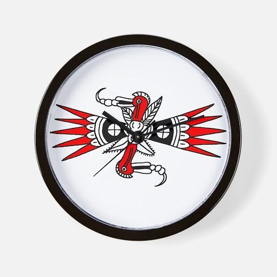 Southeastern Woodpecker Motif Wall Clock
