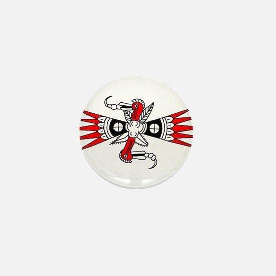 Southeastern Woodpecker Motif Mini Button