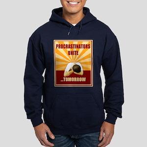 Procrastinators Unite Tomorrow Hoodie (dark)