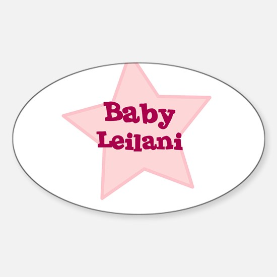 Baby Leilani Oval Decal