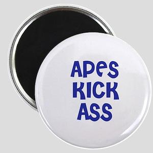 Apes Kick Ass Magnet