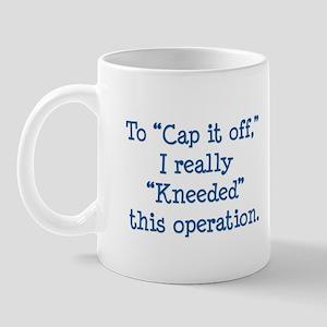 MugTextsCapItOff Mugs