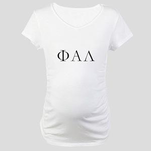 phi alpha lambda design# 6 Maternity T-Shirt