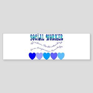 Social Worker III Bumper Sticker