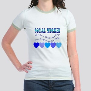 Social Worker III Jr. Ringer T-Shirt