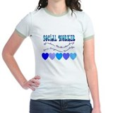 Social worker Jr. Ringer T-Shirt