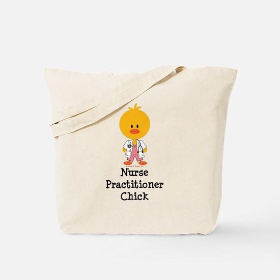 Nurse Practitioner Chick Tote Bag