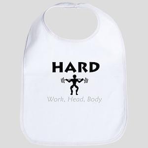 TOP Hard Work Head Body Bib