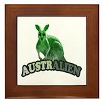 AustrAlien Framed Tile