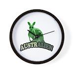 AustrAlien Wall Clock