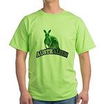 AustrAlien Green T-Shirt