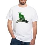 AustrAlien White T-Shirt