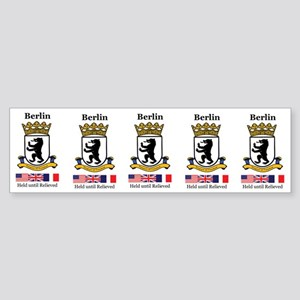 Strip of 5 Berlin Brigade Stickers