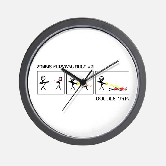 Double Tap Wall Clock