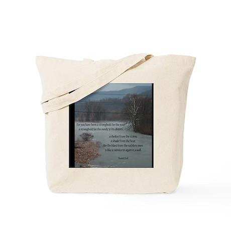 Isaiah 25:4 Tote Bag