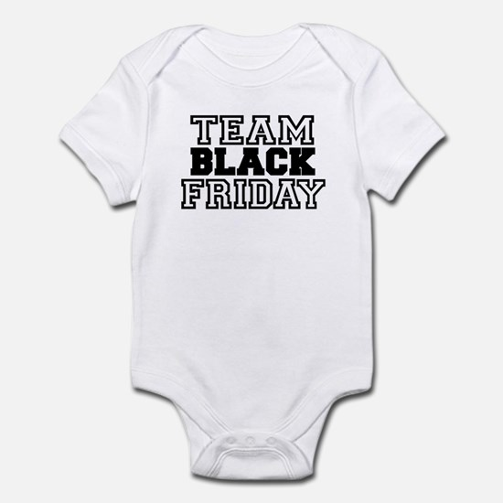 Team Black Friday Infant Bodysuit