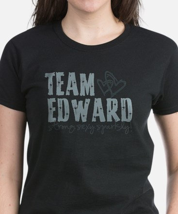 Team Edward-Strong.Sexy.Spark Women's Dark T-Shirt