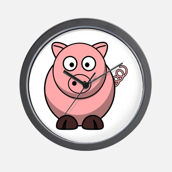 Cute Oink Wall Clock