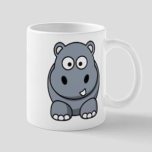 Cartoon Hippo Mugs