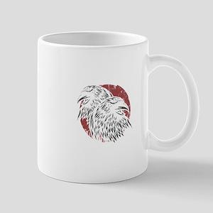 Huginn And Muninn Birds Norse Mythology Crow Mugs