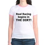 Real Racing DIRT! - Jr. Ringer T-Shirt