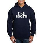 I <3 BOOST - Hoodie ( Sweatshirt ) by BoostGear