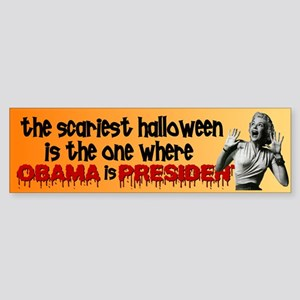 The Scariest Halloween Bumper Sticker