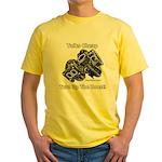 Talks Cheap - Turn Up The Boost - Yellow T-Shirt