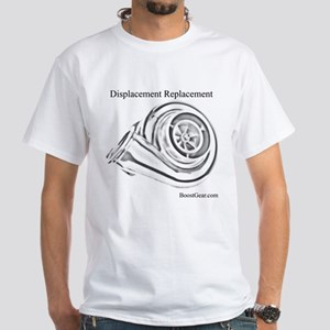 Displacement Replacement - White T-Shirt