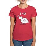 I <3 Turbo Snail - Women's Dark T-Shirt