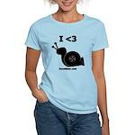 I <3 Turbo Snail - Women's Light T-Shirt