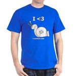 I <3 Turbo Snail - Dark T-Shirt by BoostGear