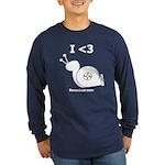 I <3 Turbo Snail - Long Sleeve Dark T-Shirt
